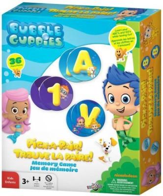 Bubble Guppies Pickapair Memory Board Game