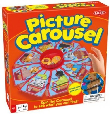 Tactic Games US Picture Carousel Board Game