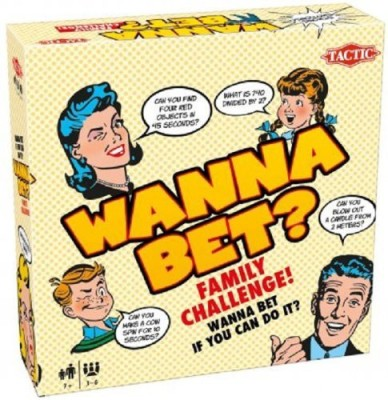Tactic Games US Wanna Bet? Board Game