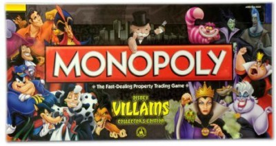 Disney Monopoly Villains Edition Board Game