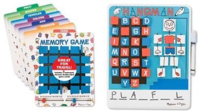 Melissa & Doug Flip To Win Bundle Board Game