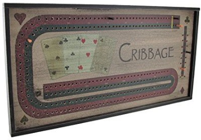 Ohio Wholesale Cribbage Wall Hanging Board Game