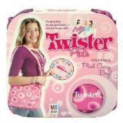 Unknown Twister Pink With Exclusive Ultracool Plush Carry Bag Board Game