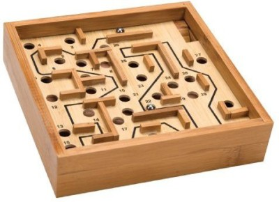 Schylling Bamboo Larinth Board Game