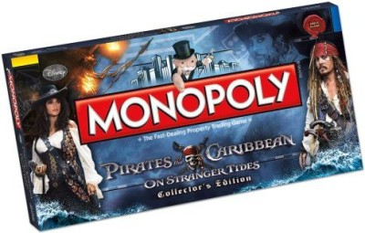 USAopoly, Inc. Pirates Of The Caribbean Monopoly Board Game