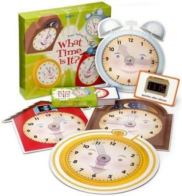 eeBoo Time Telling Board Game
