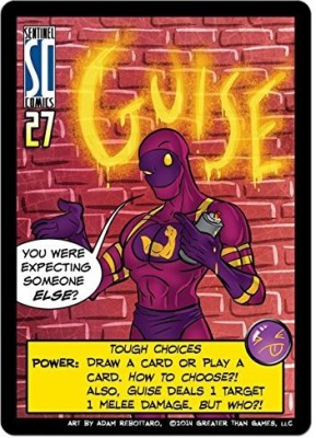 Greater Than Games Sentinels Of The Multiverse Guise Board Game