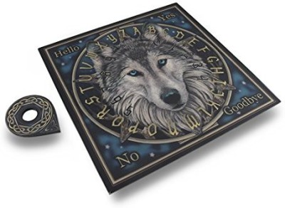 Fantasy Gifts Spirit Wolf Mystical Talking Ouija W/ Planchette Board Game