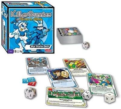 Playroom Entertainment Killer Bunnies Heroes Vs Villains Starterblue Board Game