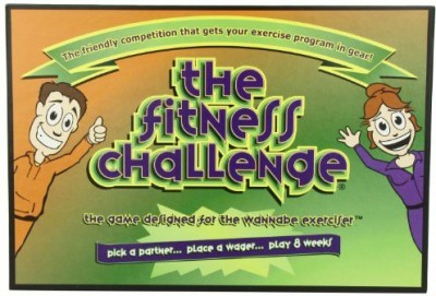 The Fitness Challenge Pick a partner Board Game