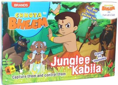 Brands Chhota Bheem Junglee Kabila Board Game