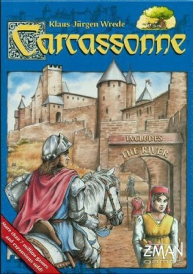 Z-Man Games Carcassonne Classic Board Game