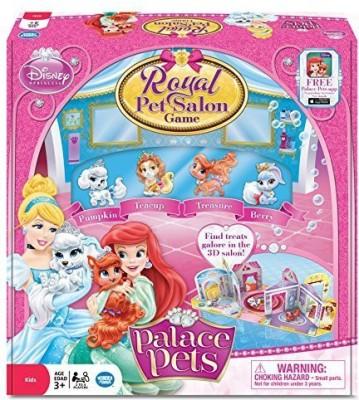Wonder Forge Princess Palace Pets Royal Pet Salon Board Game