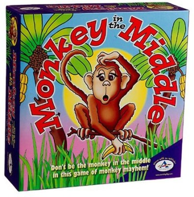 TaliCor Aristoplay Monkey In The Middle Board Game