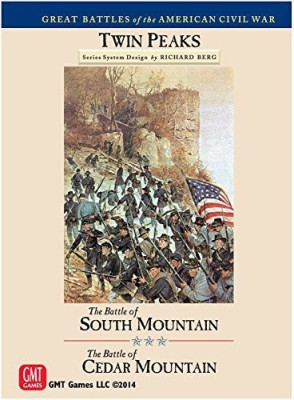 GMT Games Twin Peaks Battle Of South Mountain And Cedar Mountain Board Game