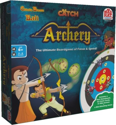 MadRat Games Chhota Bheem - Catch Archery Board Game