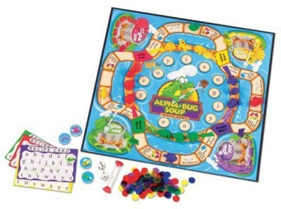 Learning Resources Alphabug Soup Word Board Game