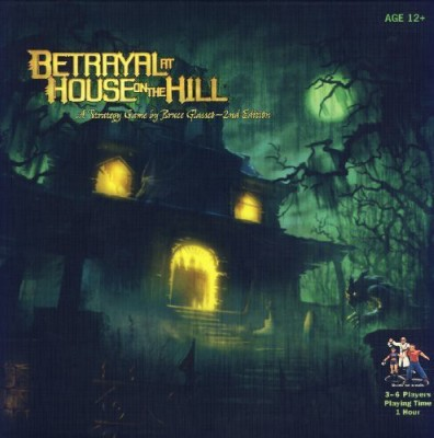 Wizards of the Coast Betrayal At House On The Hill 2Nd Edition Board Game
