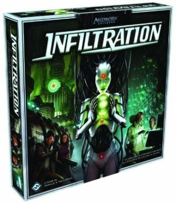 Fantasy Flight Games infiltration Board Game