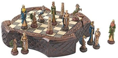 Design Toscano Legendary Celtic Warriors Chess Set And Board Game