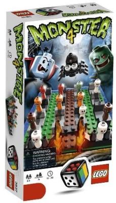 Lego Monster 4 (3837) Board Game
