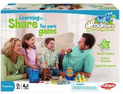 Playskool Noodleboro Fun Park Sharing Board Game