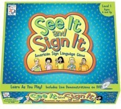 PlayAbility Toys 0043 See It Sign It Level Two Board Game
