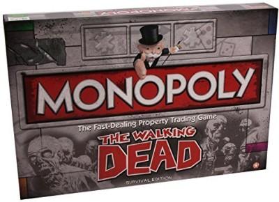 Hasbro Monopoly The Walking Dead Board Game