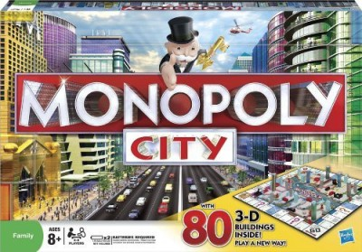 Monopoly City Edition Board Game