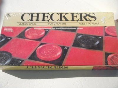 Golden Checkers (1989) Western Publishing Company Board Game