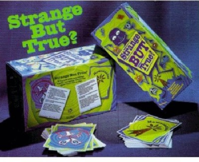 Lolo Company Inc. Strange But True Board Game