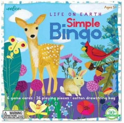 eeBoo Life On Earth Simple Bingo Child Board Game