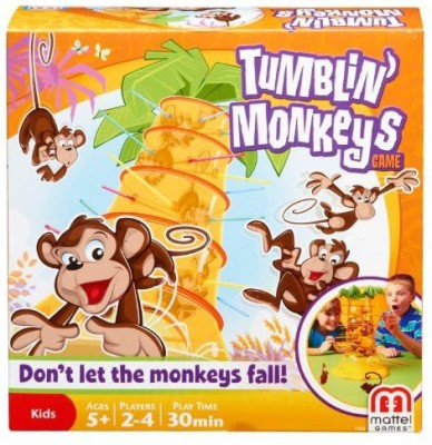 Mattel Tumblin, Monkeys Board Game