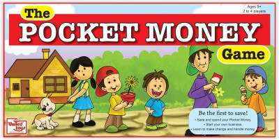 United Toys The Pocket Money Game Board Game