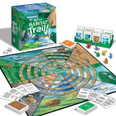 Jax Hit The Habitat Trail Board Game