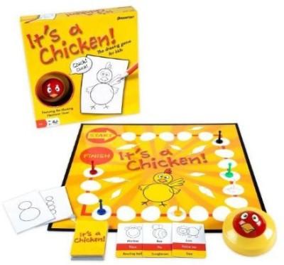 Pressman Toy It Is A Chicken Board Game