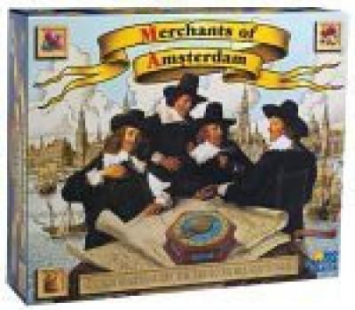 Rio Grande Games Merchants Of Amsterdam Board Game