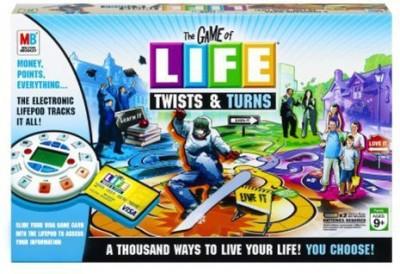 Hasbro The Of Life Twists & Turns Board Game