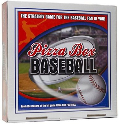 Reveal Entertainment, Inc. Reveal Entertainment Pizza Box Baseball Board Game
