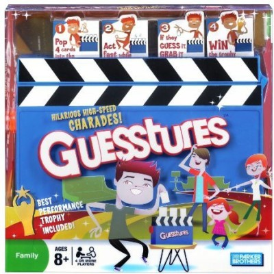 Parker Brothers guesstures Board Game