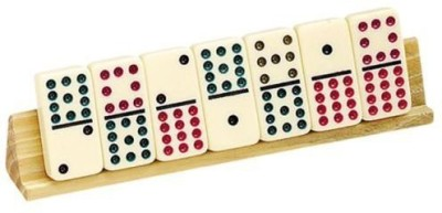 CHH S Domino Holders (2) Wooden Board Game