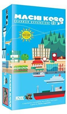IDW Games Machi Koro Harbor Expansion Board Game