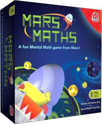 MadRat Games Mars Maths Junior Board Game