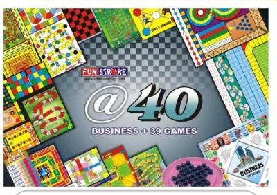 Funstroke @40 Board Game