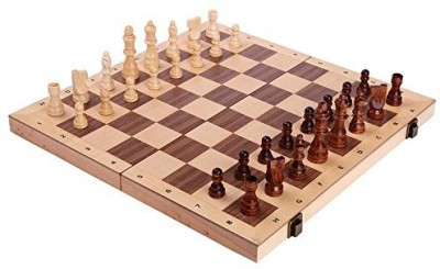 Best Chess Set Alina Chess Inlaid Wood Folding With Pieces And Tray Ranks Board Game