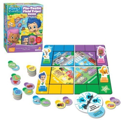 Bubble Guppies Nickelodeon Fintastic Field Trips Board Game
