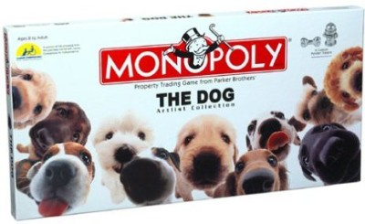 USAopoly Monopoly The Dog Artlist Collection Board Game