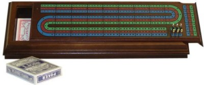 Worldwise Imports Royal Cribbage Board Game
