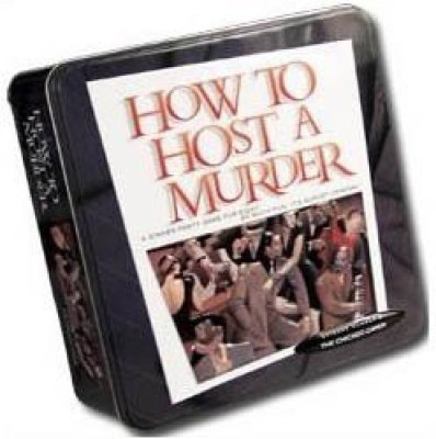 Worldwise Imports How To Host A Murder The Chicago Caper Board Game