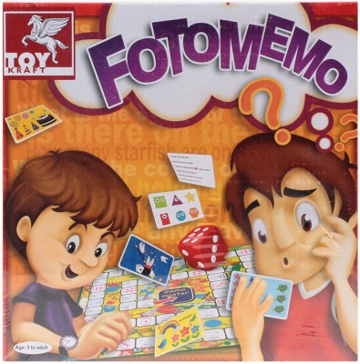TOY KRAFT Foto Memo Board Game